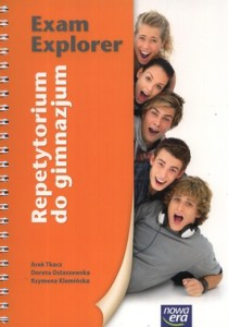 Język angielski, klasa 1-3, Exam Explorer, retetytorium do gimnazjum, Nowa Era + 4 CD
