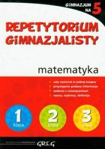 Repetytorium gimnazjalisty. Gimnazjum na 5. Matematyka 211x300 - Repetytorium gimnazjalisty. Gimnazjum na 5. Matematyka