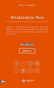 Aktualizacja Mszy 184x300 - Aktualizacja Mszy Piotr Krzyżewski
