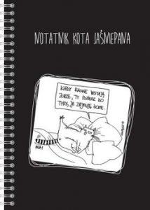 Dwukropek notatnik Kota Jasniepana 214x300 - Notatnik Kota Jaśniepana Magdalena Gałęzia