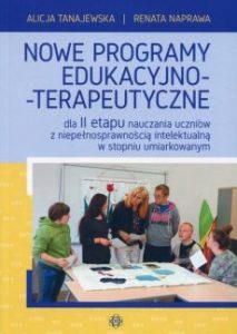 Nowe programy edukacyjno terapeutyczne 213x300 - Nowe programy edukacyjno-terapeutyczneAlicja Tanajewska Renata Naprawa