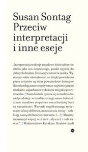 Przeciw interpretacji i inne eseje 173x300 - Przeciw interpretacji i inne eseje Susan Sontag