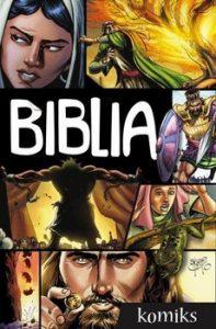 Biblia. Komiks 197x300 - Biblia komiks Sergio Cariello