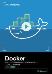 Docker 210x300 - Docker. Kurs video. Praca z systemem konteneryzacji i Docker Swarm