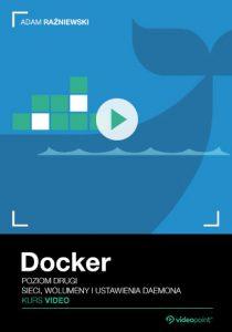Docker 210x300 - Docker. Kurs video. Poziom drugi. Sieci, wolumeny i ustawienia daemona