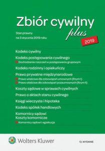 Zbior cywilny PLUS 2019 209x300 - Zbiór cywilny PLUS 2019
