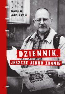 Dziennik. Jeszcze jedno zdanie 209x300 - Dziennik Jeszcze jedno zdanie Tadeusz Sobolewski