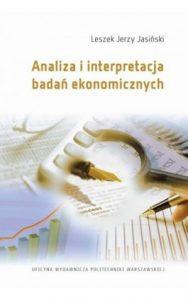Analiza i interpretacja badan ekonomicznych 188x300 - Analiza i interpretacja badań ekonomicznych Leszek Jerzy Jasiński