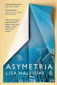 Asymetria 201x300 - Asymetria Lisa Halliday