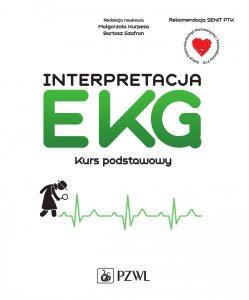 Interpretacja EKG Kurs podstawowy 249x300 - Interpretacja EKG Kurs podstawowy red Małgorzata Kurpesa Bartosz Szafran