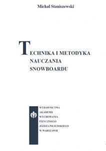Technika i metodyka nauczania snowboardu 212x300 - Technika i metodyka nauczania snowboarduMichał Staniszewski