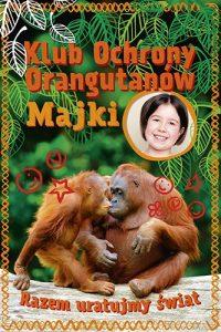 Klub Ochrony Orangutanow Majki 200x300 - Klub Ochrony Orangutanów MajkiMaja Mulak